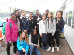National Citizen Service students at Warrender School